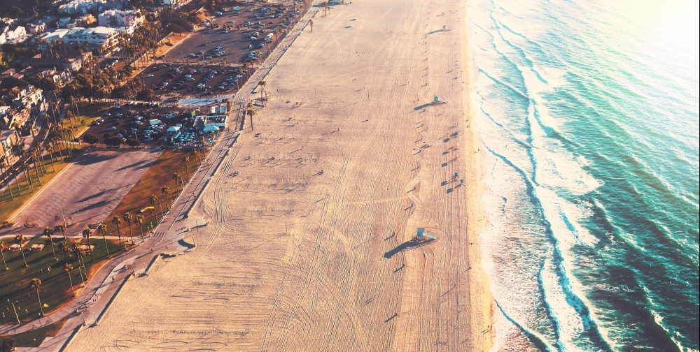 bigstock-Santa-Monica-Beach-From-Above-180769882