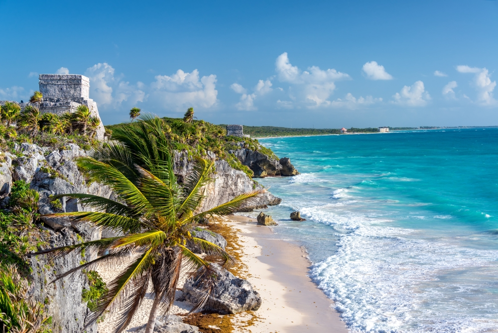 bigstock-Tulum-Ruins-And-Palm-Tree-177291916