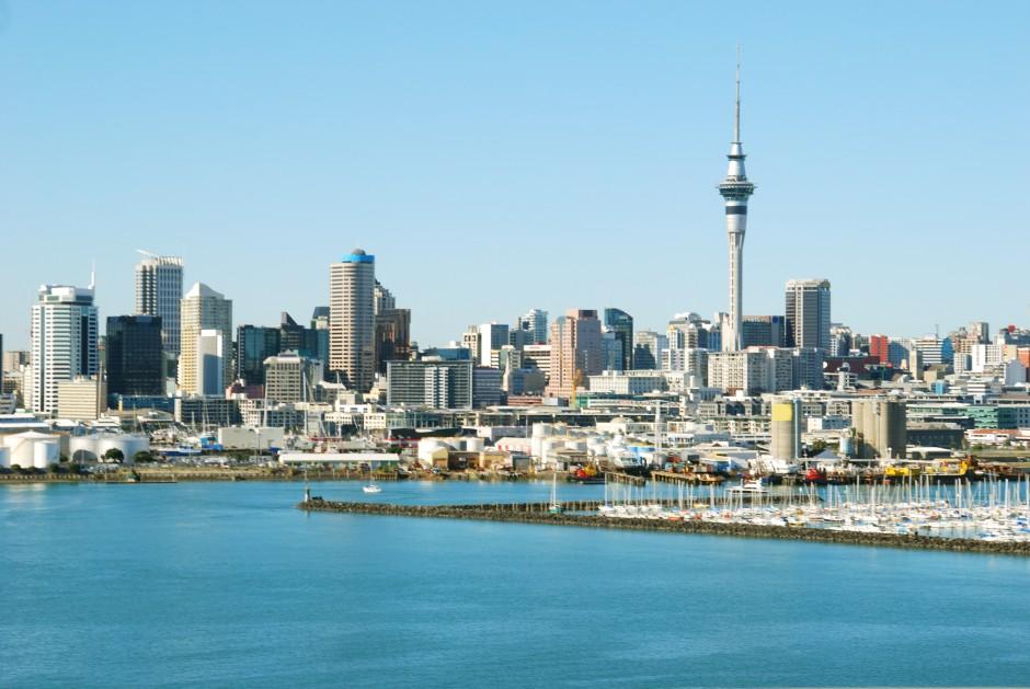 Nový Zéland Facebook: Plavba Lodí: Přístav Auckland - Nový Zéland