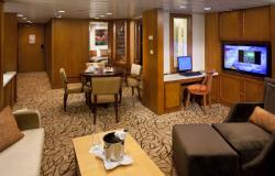 Celebrity Constellation - Celebrity Cruises - Penthouse Suite na lodi