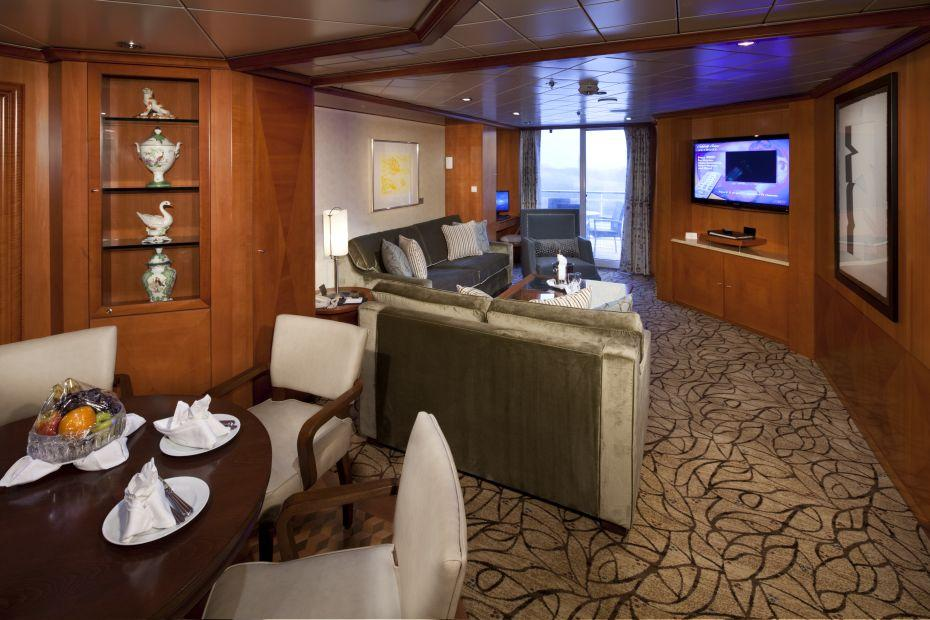 Celebrity Constellation - Celebrity Cruises - Celebrity Suite