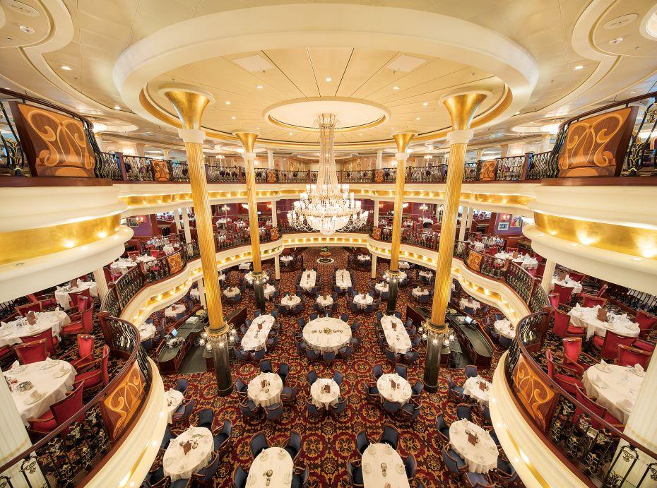 Mariner of the Seas - Royal Caribbean International - hlavní restaurace na lodi