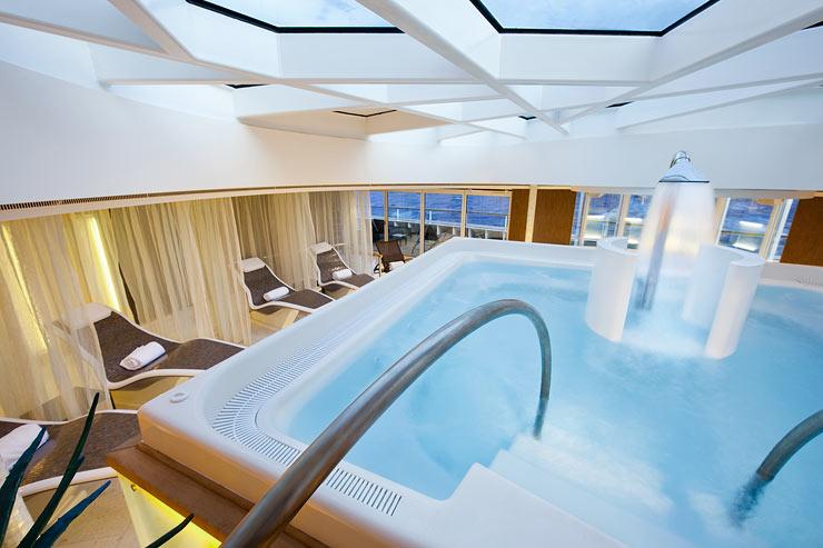 Seabourn Sojourn - Seabourn Cruise Line - Wellness centrum a lodi