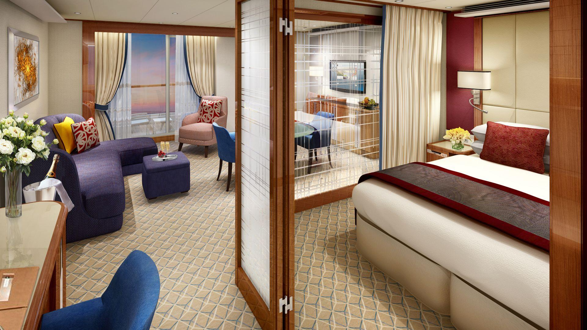 Seabourn Encore - Seabourn Cruise Line - Penthouse Suite