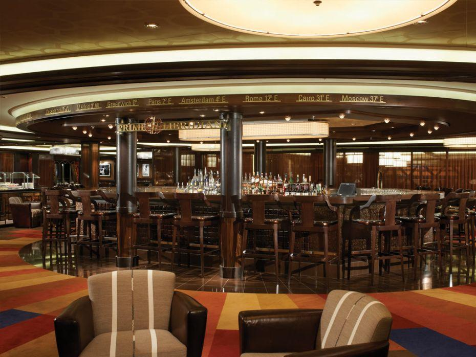 Norwegian Breakaway - Norwegian Cruise Lines - Prime Meridian Bar na lodi
