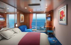 Norwegian Gem - Norwegian Cruise Lines - Suite kajuta s balkonem