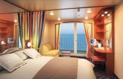Norwegian Sun - Norwegian Cruise Lines - Mini Suite kajuta s balkonem