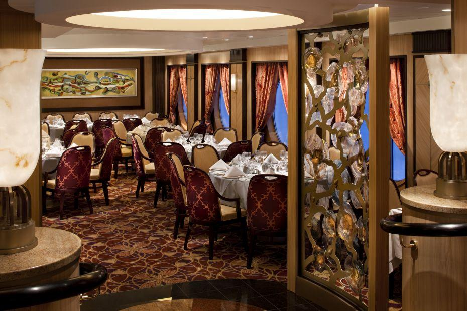 Allure of the Seas - Royal Caribbean International - restaurace
