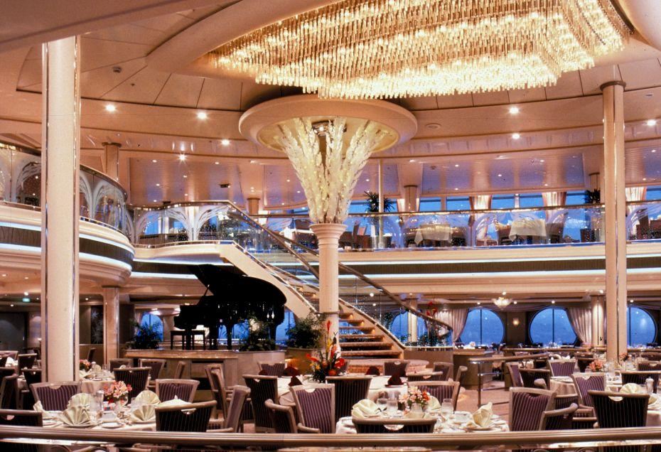 Rhapsody of the Seas - Royal Caribbean International - Edelweiss hlavní restaurace