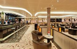 Costa neoRomantica - Costa Cruises - bar v Cigar Lounge