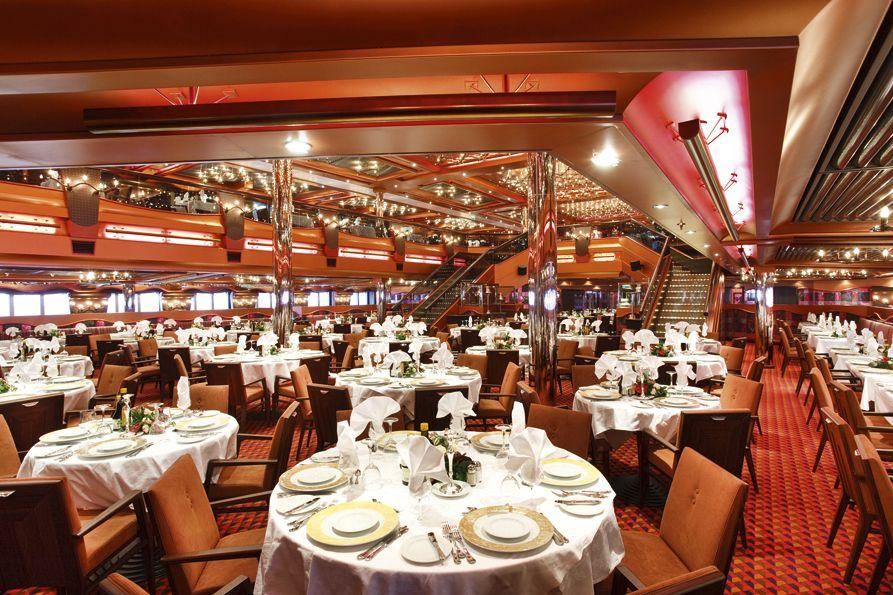 Costa Pacifica - Costa Cruises - Samsara Restaurant Buffet
